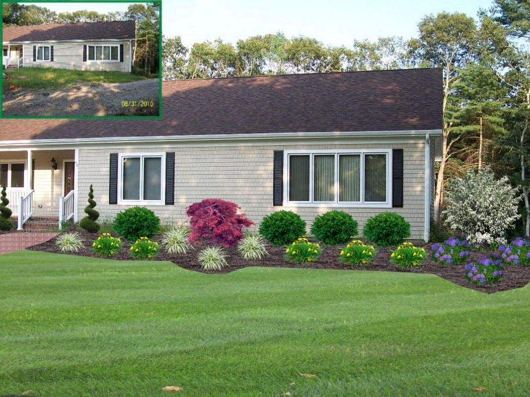 Backyard And Front Yard Landscaping