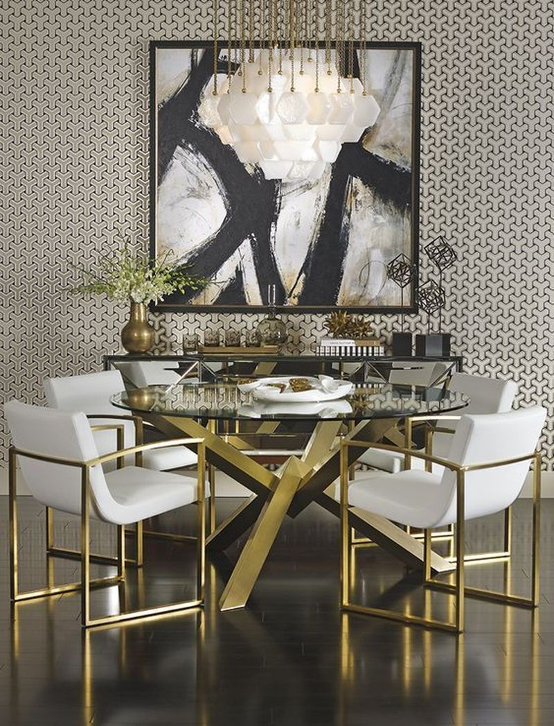 35 Luxury Modern Dining Room Design Ideas That Are Comfortable